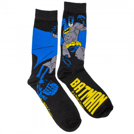 Batman Action Pose Crew Socks