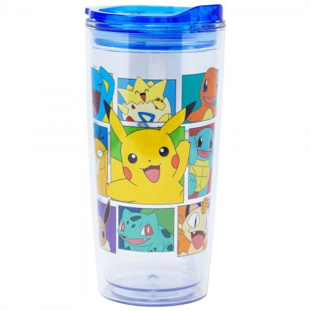 Pokemon 20 Ounce Plastic Travel Mug