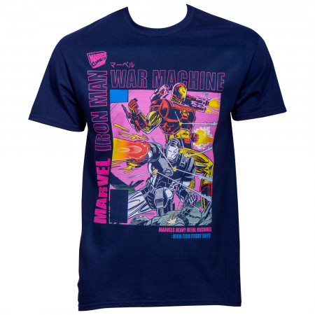 Marvel 80th Iron Man and War Machine T-Shirt