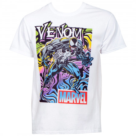 Marvel's Venom Neon Color Stance T-Shirt