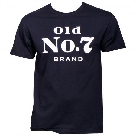 Jack Daniels Old No. 7 Brand Logo T-Shirt