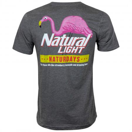 Natty Naturdays Grey Natural Light Men's Tee Shirt