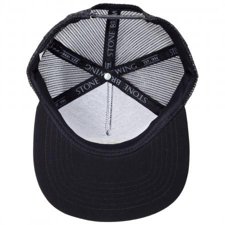 Stone Brewing Gargoyle Logo Mesh Snapback Hat