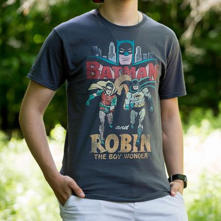 Batman and Robin Classic Duo Men's T-Shirt