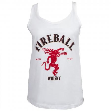 Fireball Classic Logo Women's Racerback Tank Top
