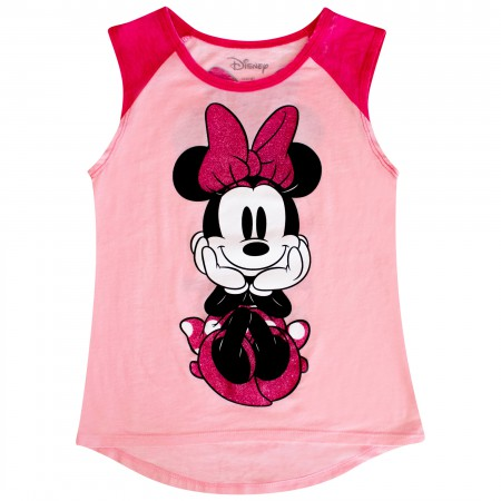 Minnie Mouse Classic Pose Youth Tank Top