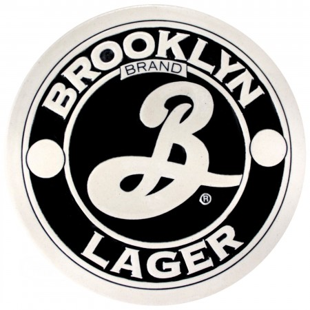 Brooklyn Brewery Logo Stone Coaster