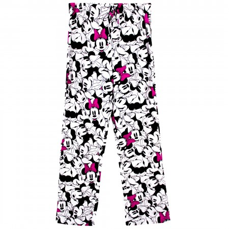 Minnie Mouse Faces Sleep Pants