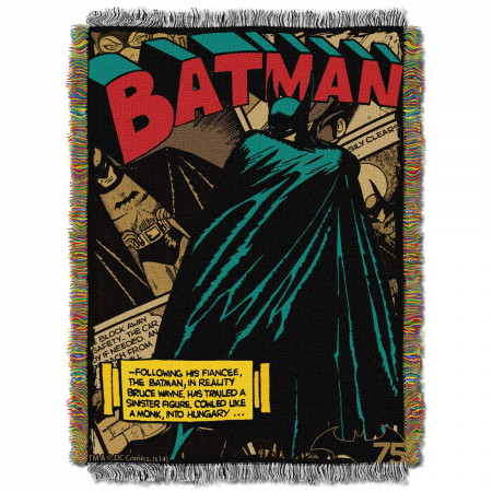 Batman Gotham Knight Throw Blanket