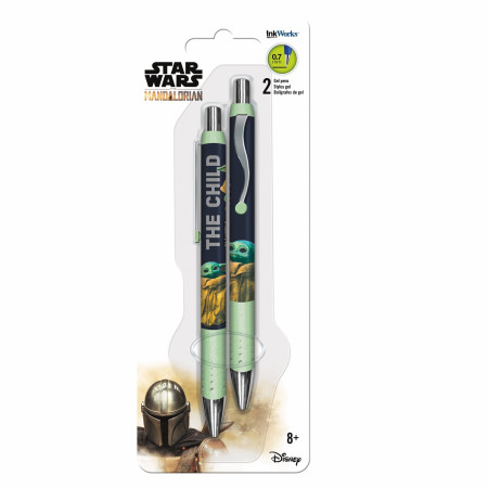 The Mandalorian The Child 2-Pack Pens