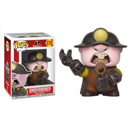 Incredibles 2 Underminder Funko Pop Figure