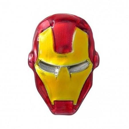 Ironman Helmet Lapel Pin