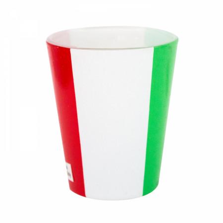 Italian Flag Novelty Shot Glass