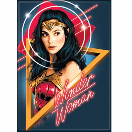 Wonder Woman 1984 Movie Poster Magnet