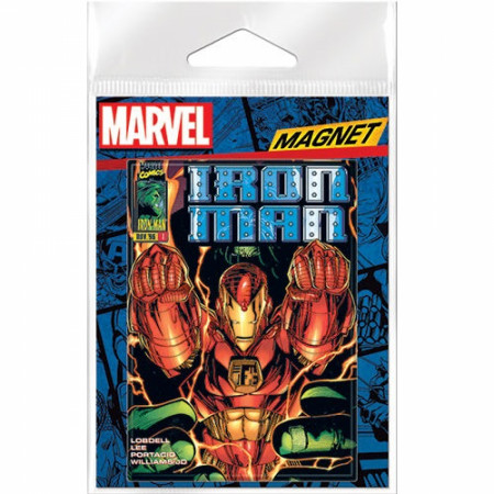 Marvel Comics Iron Man Blast Off Magnet