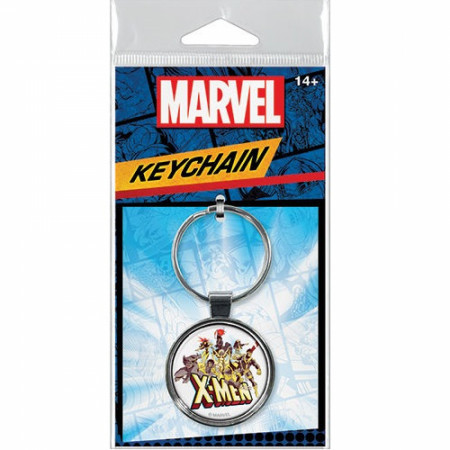 Marvel X-Men Cartoon Group Keychain