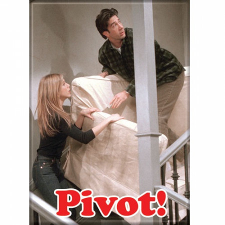 Friends TV Show PIVOT! Magnet