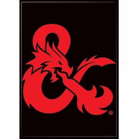 Dungeons & Dragons Logo Ampersand Magnet