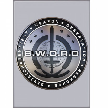 WandaVision S.W.O.R.D. Symbol Magnet