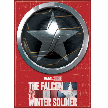 Winter Soldier Symbol From The Falcon and The Winter Soldier Series Magnet