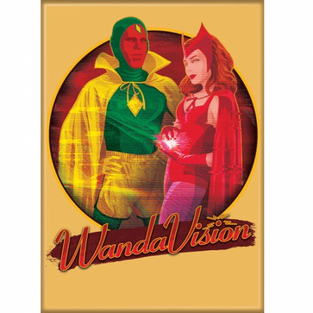 WandaVision Halloween Special Magnet