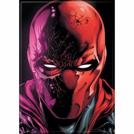 DC Comics Red Hood Cracked Magnet