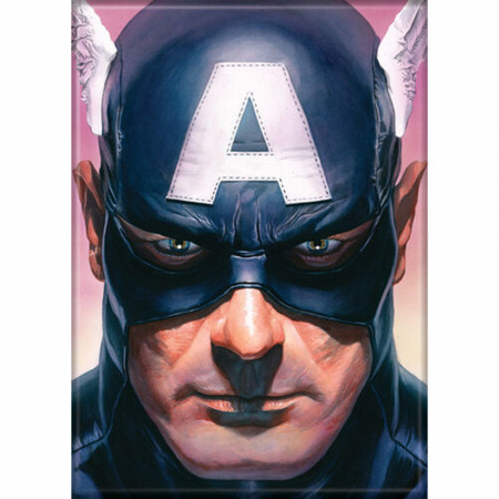 Marvel Comics Avengers Captain America Character Portrait Button