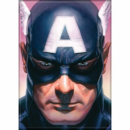 Marvel Comics Avengers Captain America Character Portrait Magnet