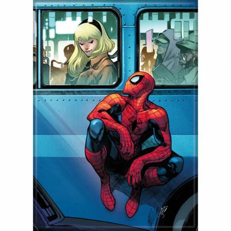 Marvel Comics Spider-Man and Gwen Magnet