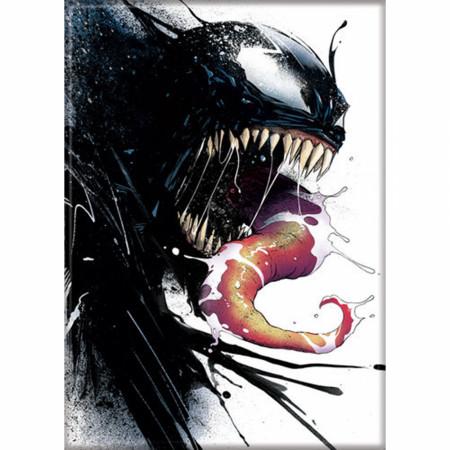 Marvel Comics Venom Character Portrait Symbiote Ink Blot Magnet