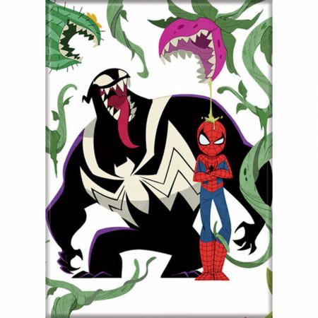 Marvel Comics Spider-Man & Venom Kawaii Double Trouble Magnet