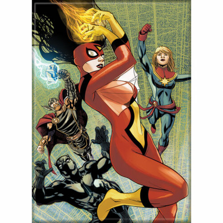 Marvel Comics Avengers Issue #32 Spider-Woman Comic Cover Magnet