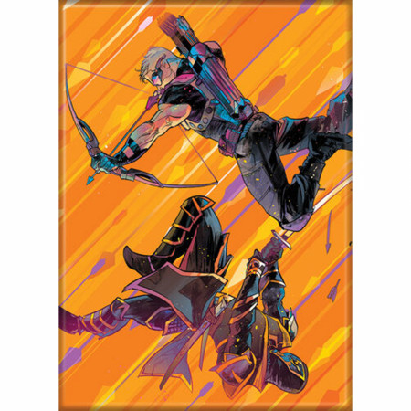 Marvel Comics Ultimate Hawkeye Freefall Magnet
