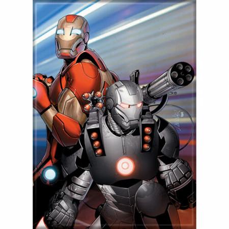 Marvel Comics Ultimate Iron Man & War Machine Characters Magnet