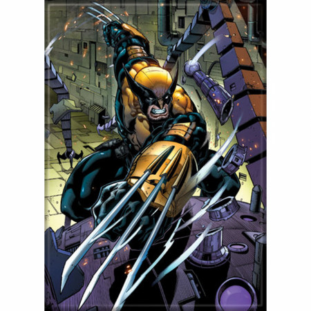 Marvel Comics X-Men Wolverine Character Slice Magnet