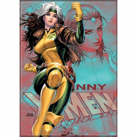 Marvel Comics X-Men Rogue Character Magnet