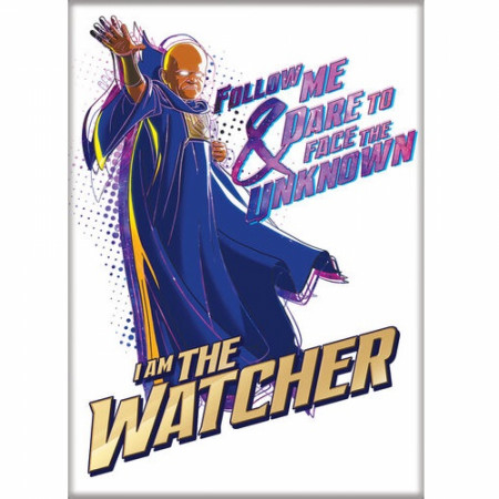 Marvel Studios What If...? Series I am The Watcher Character Magnet
