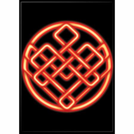 Marvel Comics Shang-Chi Ten Rings Symbol Magnet