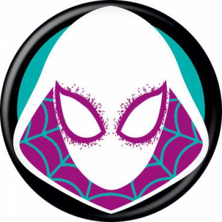 Spider-Gwen Costume Mask Button