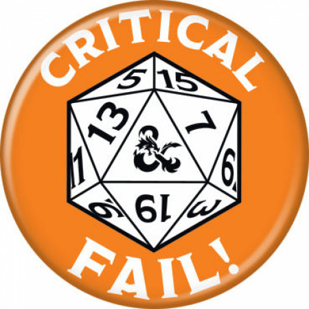 Dungeons & Dragons Critical Fail Button