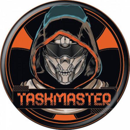 Black Widow Movie Taskmaster Character Button