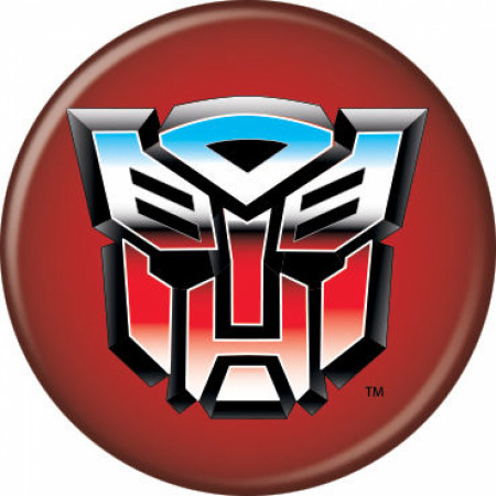 The Transformers Autobots Logo Button