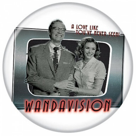 WandaVision A Love Like You've Never Seen! Button