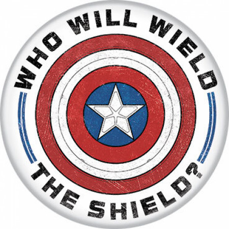 The Falcon and The Winter Soldier Series Who Will Wield the Shield Button