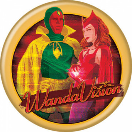 WandaVision Halloween Special Button