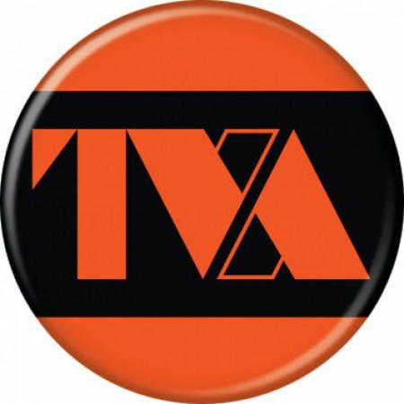 Marvel Studios Loki Series Time Variance Authority TVA Logo Button
