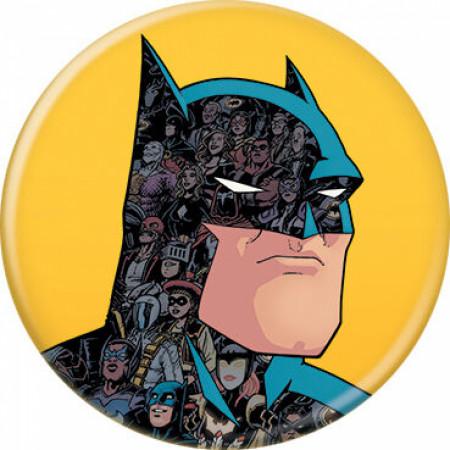 DC Comics Batman Character Portrait w/Allies Button