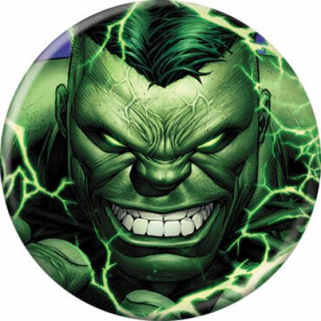 Marvel Comics Ultimate Hulk Character Portrait Button