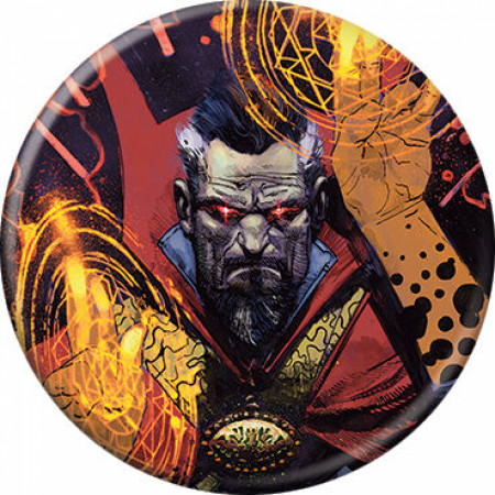 Marvel Comics Doctor Strange Character Portrait Button