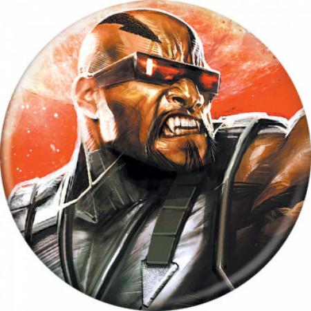 Marvel Comics Curse of the Mutants Blade Character Portrait Button
